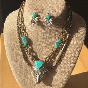 Palm Royal Convertible Necklace